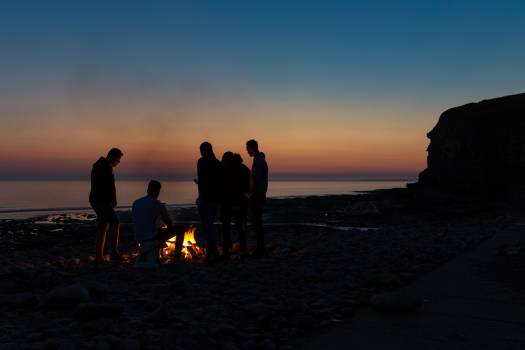 Sunset Ocean Beach Free Photo