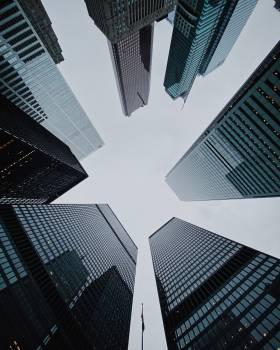 Skyscraper Architecture City #422327