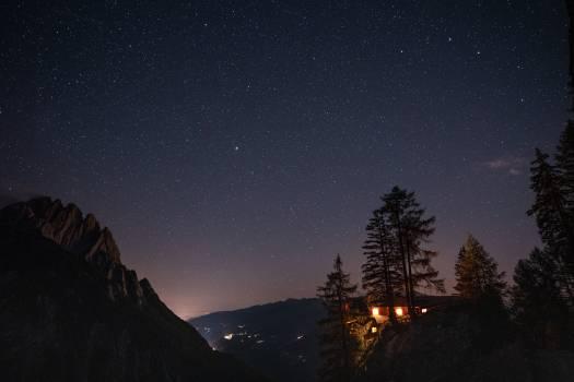 Star Celestial body Landscape Free Photo