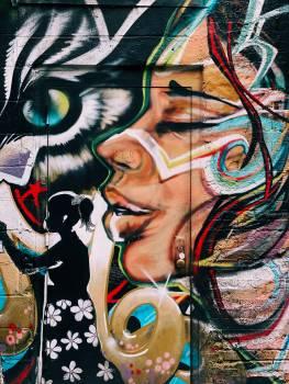 Graffito Decoration Art Free Photo