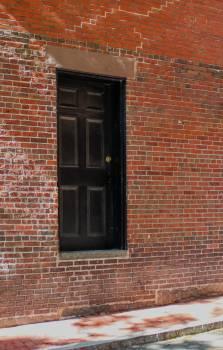 Brick Wall Door Free Photo #422472