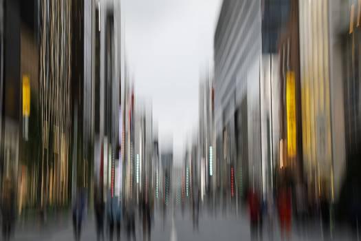 City Background Blur Free Photo Free Photo