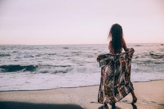 Female Beach Ocean Free Photo #422476