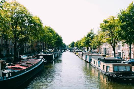 Amsterdam Canal Boats #422764