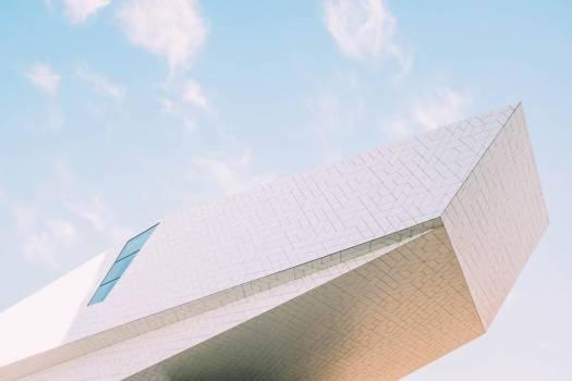 White Modern Building #422768