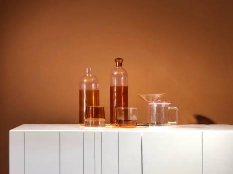 Glass Perfume Bottle Free Photo