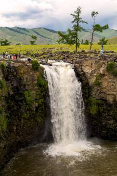 Orkhon Waterfall in Mongolia - Free Image For Commercial Use #423000