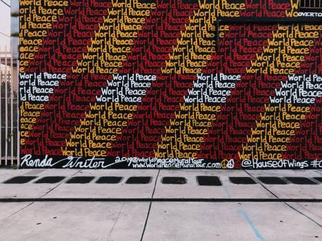Graffito Decoration Texture Free Photo