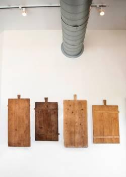 Brown Wood Board #423198