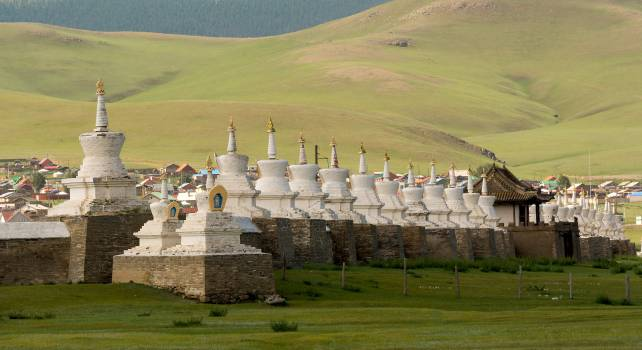 Erdene Zuu Monastery - Free Image For Commercial Use Free Photo