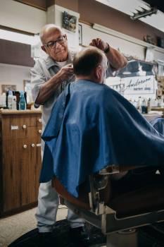 Barber chair Hairdresser Barbershop Free Photo