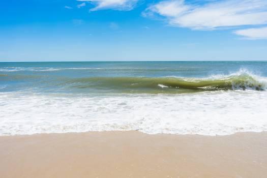 Beach Sand Ocean #423302
