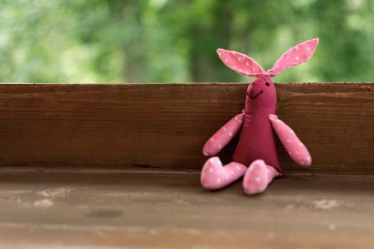 Handmade Bunny Toy - Free Image For Commercial Use Free Photo
