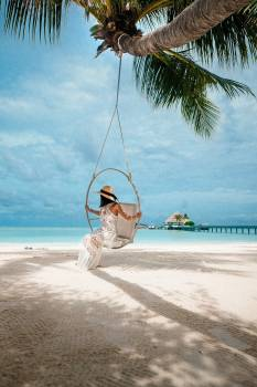 Beach Swing Sea #423635