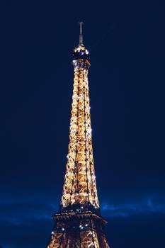 Eiffel Tower during Nighttime #42371