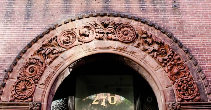 Brick Arch Entrance Free Photo #423741