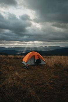 Mountain tent Tent Shelter Free Photo