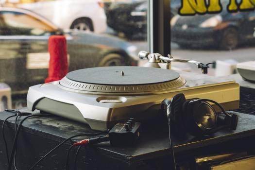 Vintage Turntable Music Free Photo #423860