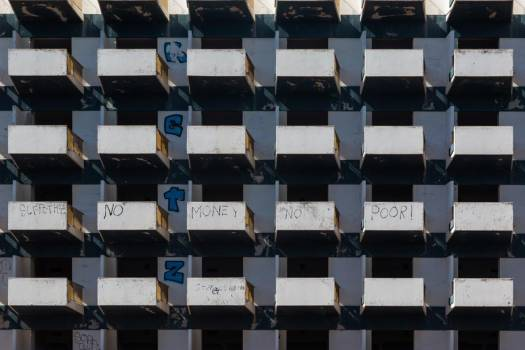 Graffitied Balconies #423915