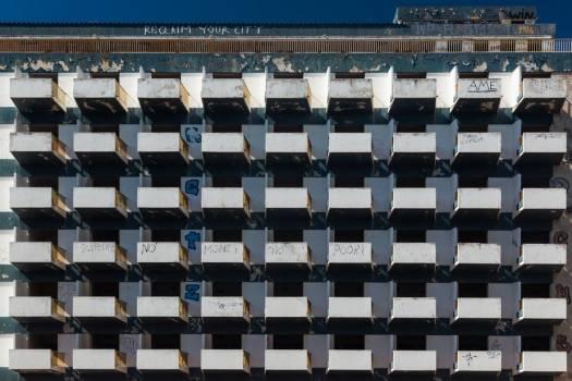 Apartment Balconies #423916