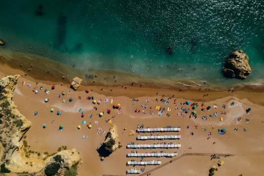 Beach View By Drone #423917