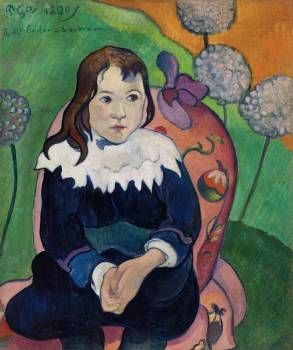 Mr. Loulou (Louis Le Ray) (1890) by Paul Gauguin. Original from Barnes Foundation.  Free Photo