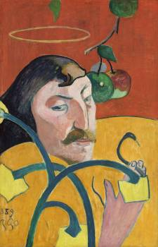Self-Portrait (1889) by Paul Gauguin. Original from The National Gallery of Art.  Free Photo