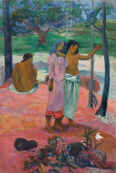 The Call (1902) by Paul Gauguin. Original from The Cleveland Museum of Art.  Free Photo