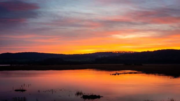 Sunset Water Evening Free Photo Free Photo