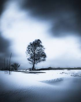 Sky Atmosphere Snow Free Photo