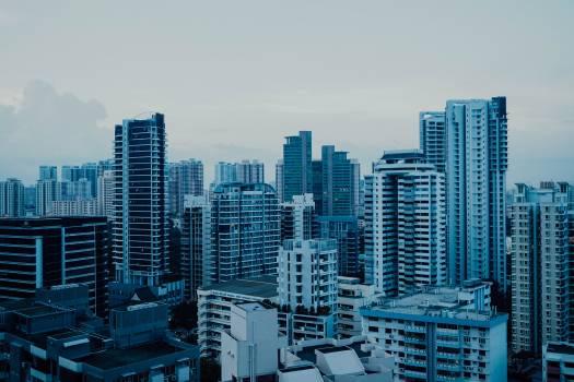 Business district City Skyscraper Free Photo