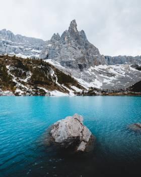 Glacier Mountain Landscape #424324