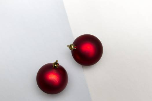 Christmas Baubles Background Free Photo Free Photo