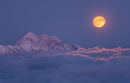 Mountain Sun Volcano #424416