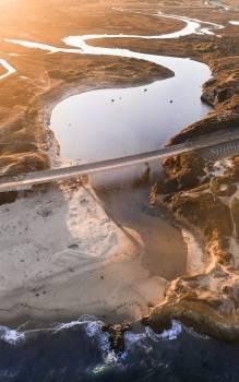 Ice Beach Landscape Free Photo