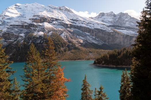 Lake Mountain Range Free Photo