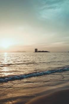 Sunrise On Coastal Waters #424622