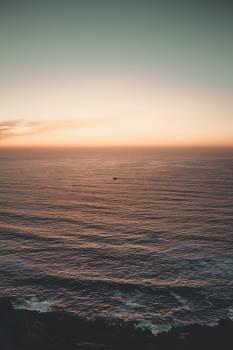Sunrise Over A Colorful Sea #424624