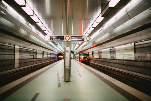 Train Subway train Station #424698