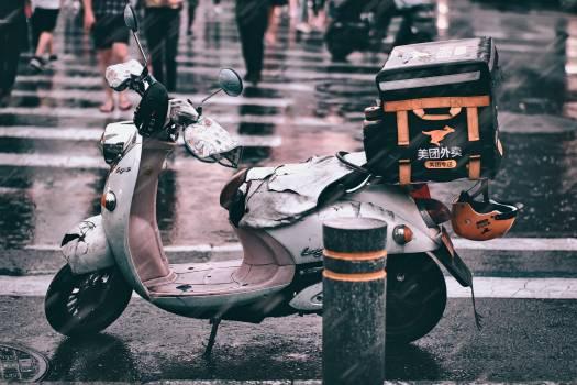 Motor scooter Wheeled vehicle Vehicle #424708