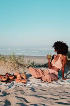 Beach Sand Bikini #424804