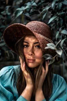 Hat Sombrero Portrait #424833