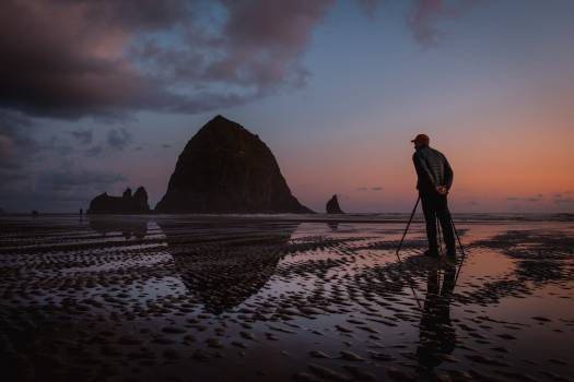 Beach Ocean Sunset #424873