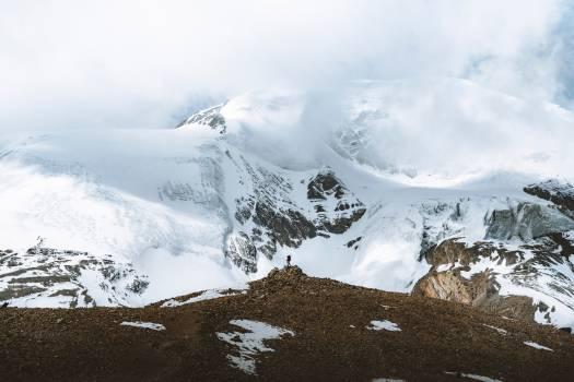 Mountain Snow Glacier Free Photo