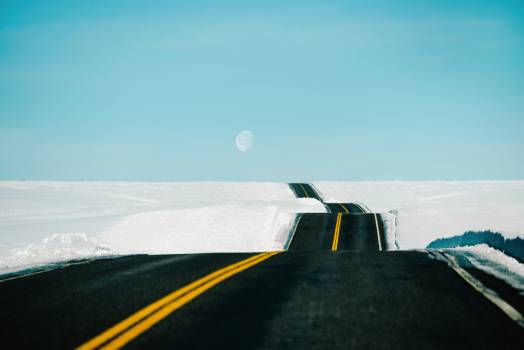 Asphalt Road Landscape #425038