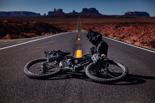 Bicycle Road Mountain bike Free Photo