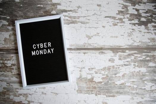 Cyber Monday With Blank Space #425156