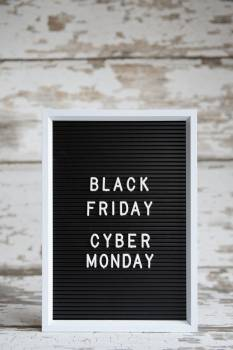 Letter Board Black Friday Cyber Monday #425160