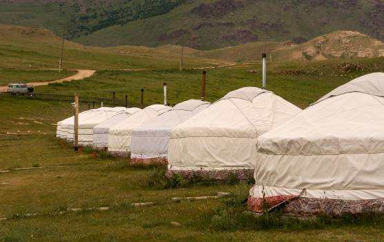 Ger Camp Mongolia - Free Image For Commercial Use #425347