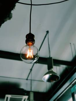 Wire Lamp Light bulb #425353